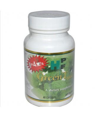 Healthy Origins, Verde T 4.000, senza caffeina, 60 capsule