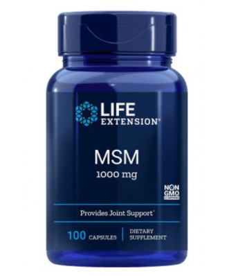 MSM 1000 mg (100 Capsules) - Life Extension