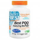 PQQ del medico, 20 mg, 30 Caps Veggie, Doctor's Best