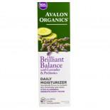 Dagelijkse huidcreme - Lavendel Luminosity lijn (57 g) - Avalon Organics