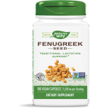 Fenugreek Seed 610 mg (180 Veggie Caps) - Nature's Way