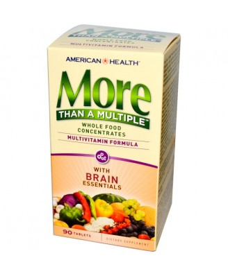 More Than A Multiple with Brain Essentials (90 tablets) - American Health