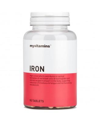 Myvitamins Iron, 90 Tablets (90 Tablets) - Myvitamins