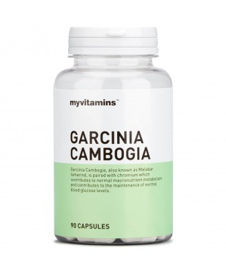 Myvitamins Garcinia Cambogia, 30 Capsules (30 Capsules) - Myvitamins