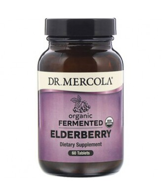 Organic Fermented Elderberry 60 Tablets - Dr. Mercola