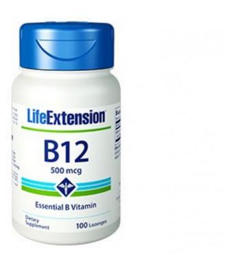 Vitamina B12 500 Mcg - 100 Pastiglie - Life Extension