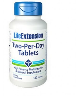 Due al giorno Compresse, 120 compresse - Life Extension