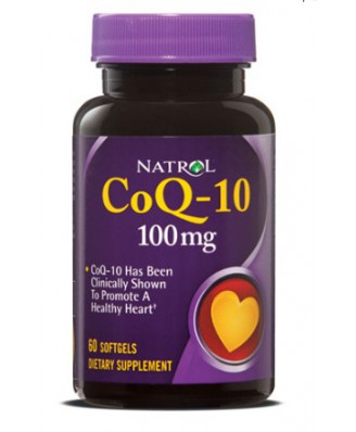 Natrol, CoQ-10 100 mg, 60 Softgels