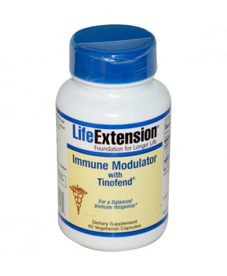 Immune Modulator with Tinofend (60 Veggie Capsules) - Life Extension