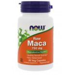 Raw Maca- 750 mg (30 Vegetarian Capsules) - Now Foods