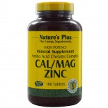 Cal/Mag Zinc (180 Tablets) - Nature's Plus