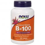 B-100 Sustained Release (100 tablets) - Now Foods