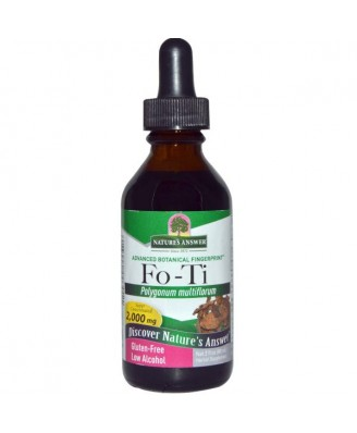 Nature's Answer, Fo-Ti, Low Alcohol, 2,000 mg, 2 fl oz (60 ml)