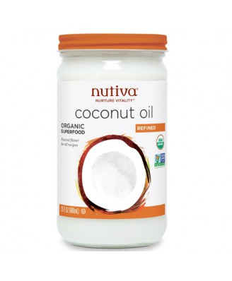 Organic Coconut Oil Refined (680 ml) - Nutiva