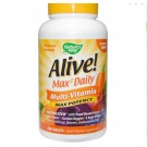 Alive! Whole Food Energizer Multivitamine Zonder Toegevoegd IJzer - Nature's Way (180 Tabletten)