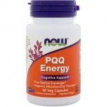 Now Foods, PQQ Energy, 30 Veg Capsules