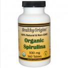 Healthy Origins, Organic Spirulina, 500 mg, 360 Tablets