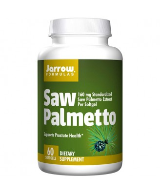Saw Palmetto 160 mg (60 softgels) - Jarrow Formulas