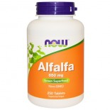 Alfalfa 650 mg (250 tablets) - Now Foods