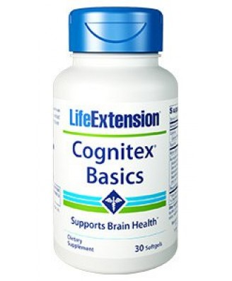 Cognitex Basics (30 Softgels) - Life Extension