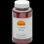 L-Carnitin 500 mg (90 vegetarian capsules) - Vitaplex