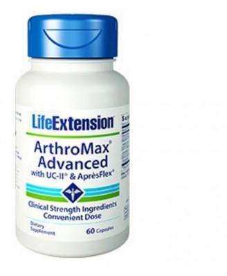 Arthromax Avanzato Con Uc-Ii & Aprèsflex - 60 Capsule - Life Extension