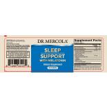 Melatonin Sleep Support Raspberry Flavor (30 Tablets) - Dr. Mercola