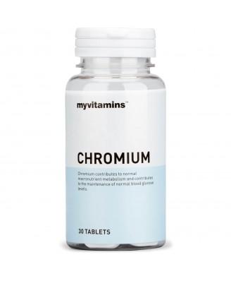 Chromium (30 Tablets) - Myvitamins