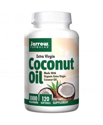 Jarrow Formulas, Coconut Oil, Extra Virgin, 1000 mg, 120 Softgels