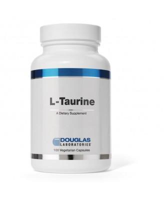 L-Taurine - 100 vegetarian capsules - Douglas Laboratories