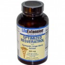 Optimized Resveratrol with Synergistic Grape Berry Actives 250 mg (60 Veggie Caps ) - Life Extension