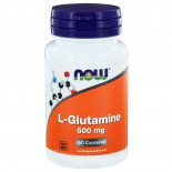 L-Glutamine 500 mg (60 capsules) - Now Foods