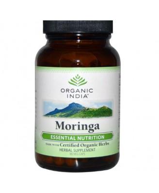 Organic India, Moringa, 90 Veggie Caps