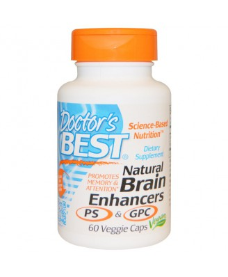 Natural Brain Enhancers PS & GPC (60 Veggie Caps) - Doctor's Best
