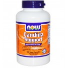 Now Foods, supporto di Candida, salute intestinale, 180 Caps Veggie