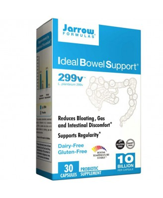 Ideal Bowel Support 299v (30 Veggie Caps) - Jarrow Formulas
