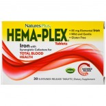 Hema-Plex (30 Sustained Release Tablets) - Nature's Plus