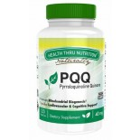 PQQ (as PureQQ™) 40 mg (non-GMO) (120 Vegicaps) - Health Thru Nutrition