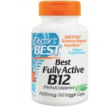 Best Fully Active B12, 1500 mcg (60 Veggie Caps) - Doctor's Best