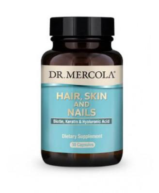 Hair, Skin and Nails (Biotin, Keratin & Hyaluronic Acid) 30 Capsules - Dr. Mercola
