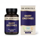 Dairy Enzymes (30 Capsules) - Dr. Mercola