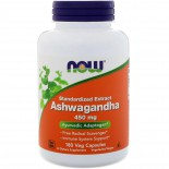 Ashwagandha- 450 mg (180 Vegetarian Capsules) - Now Foods