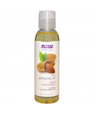 Sweet Almond Oil (118 ml) - Now Foods