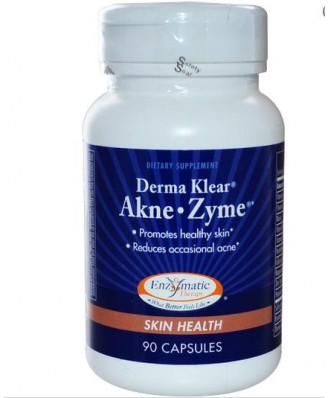 Terapia enzimatica, Derma Klear Akne • Attilio, la salute della pelle, 90 capsule