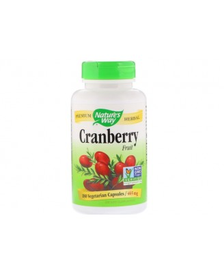 Cranberry Fruit 465 mg (180 Vegetarian Capsules) - Nature's Way