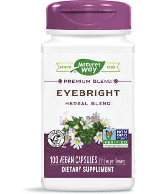 EYEBRIGHT 458 MG (100 CAPSULES) - NATURE'S WAY