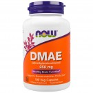DMAE 250 mg (100 Veggie Caps) - Now Foods
