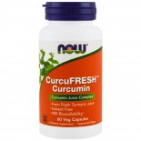 CurcuFresh Curcumin (60 Vegetarian Capsules) - Now Foods