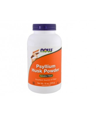 Psyllium Husk Powder (340 g) - Now Foods