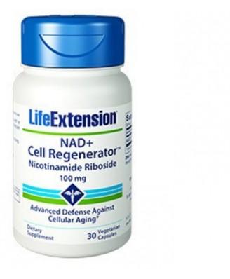 Nad+ Cell Regenerator  Nicotinamide Riboside 100 Mg - 30 Capsule Vegetariane - Life Extension